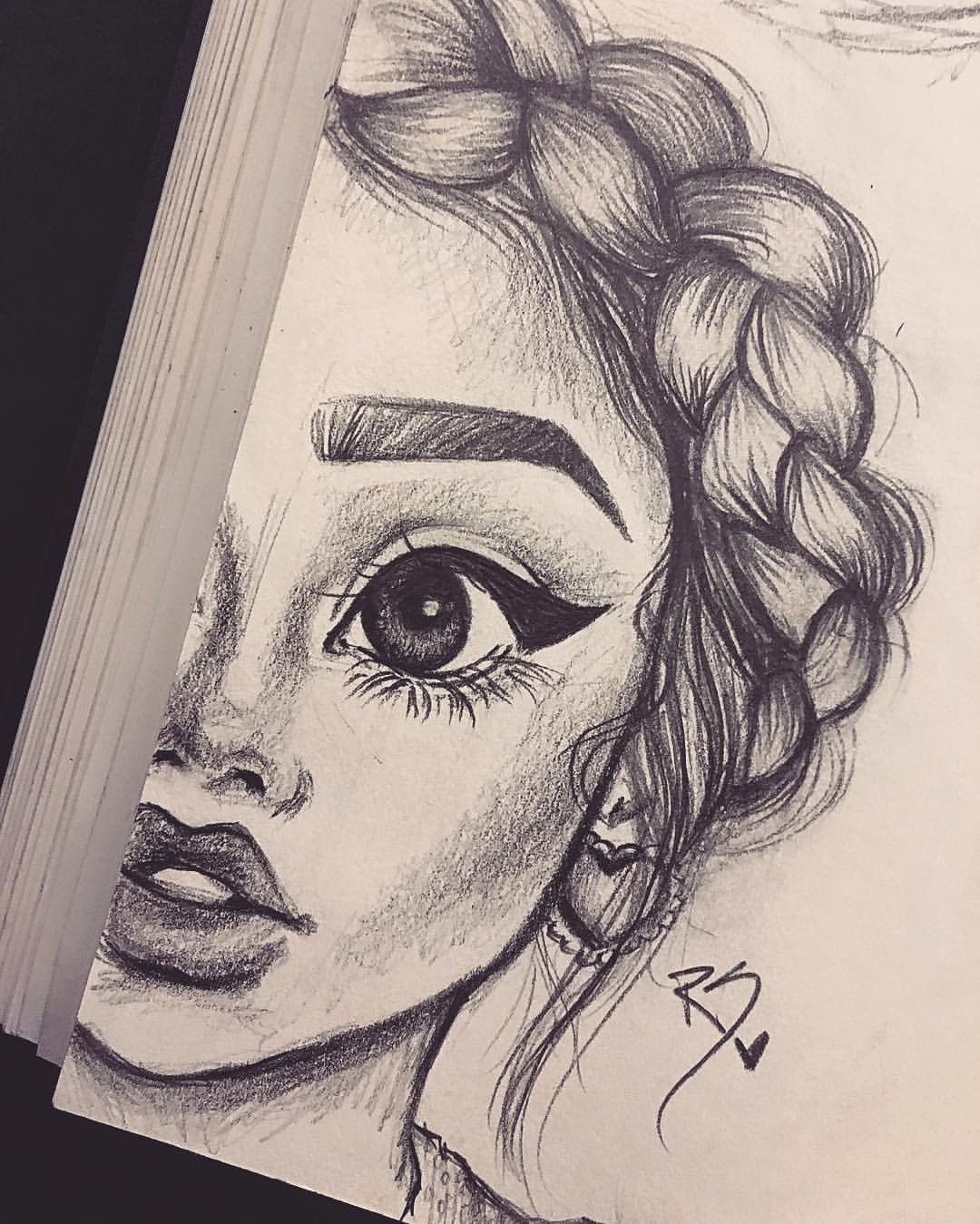 Best Drawings On Tumblr Cool Drawing Ideas For Teenage Girls 19