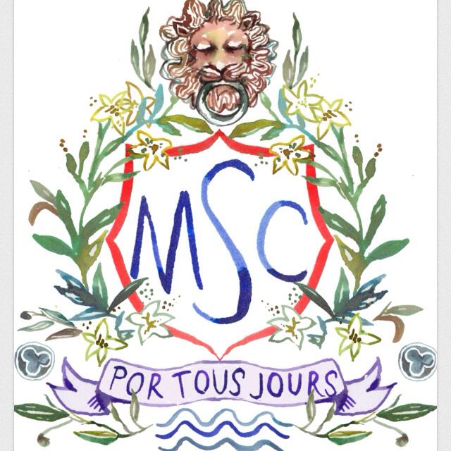 This is the crest I would like as the logo of the site. I am going to rework it so the center of the crest has LM in it for Lion March and the bottom scroll will say Lion March. The purple color will be gone.