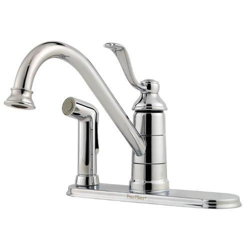 Price Pfister Portland Chrome Single Control Kitchen Faucet Gt34