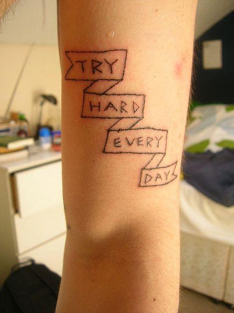 Photo of new tattoo