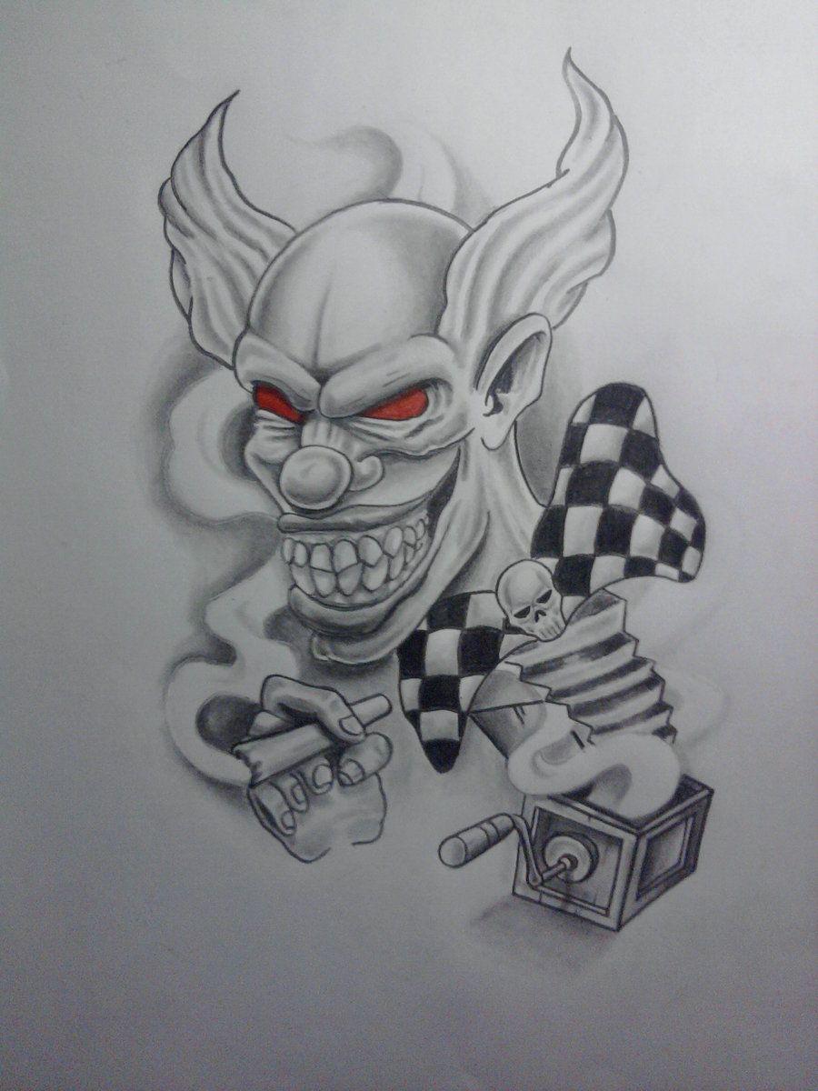 Evil Jester Tattoo : jester, tattoo, Simple, Jester, Tattoos, Magnetizing, Tattoo, Designs, Tattoo,, Drawings,, Clown