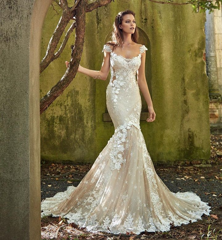 Galia Lahav stunning wedding dress | mermaid wedding dress #weddingdress #weddinggown