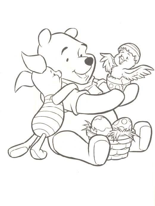 winnie the pooh found on kleurplaten