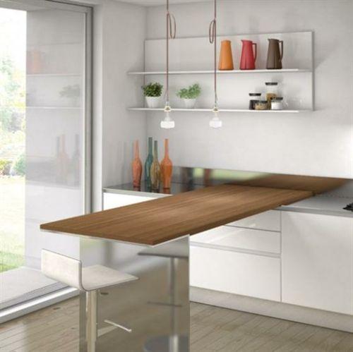 einrichtungstipps für kleine küche - 25 tolle ideen und bilder ... - Günstige Kleine Küchen