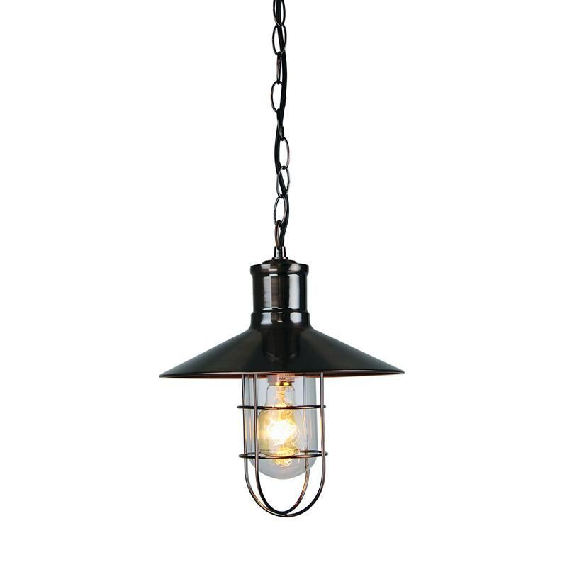 Vernon Pendant Light Single Caged 60w In Antique Copper Or Chrome Oriel Lighting Interior Design Living Room Warm Pendant Lighting Lamp Bases