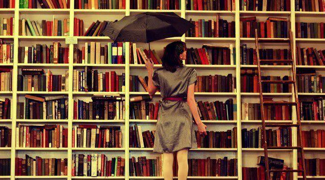 #libri #ombrelli #biblioteca