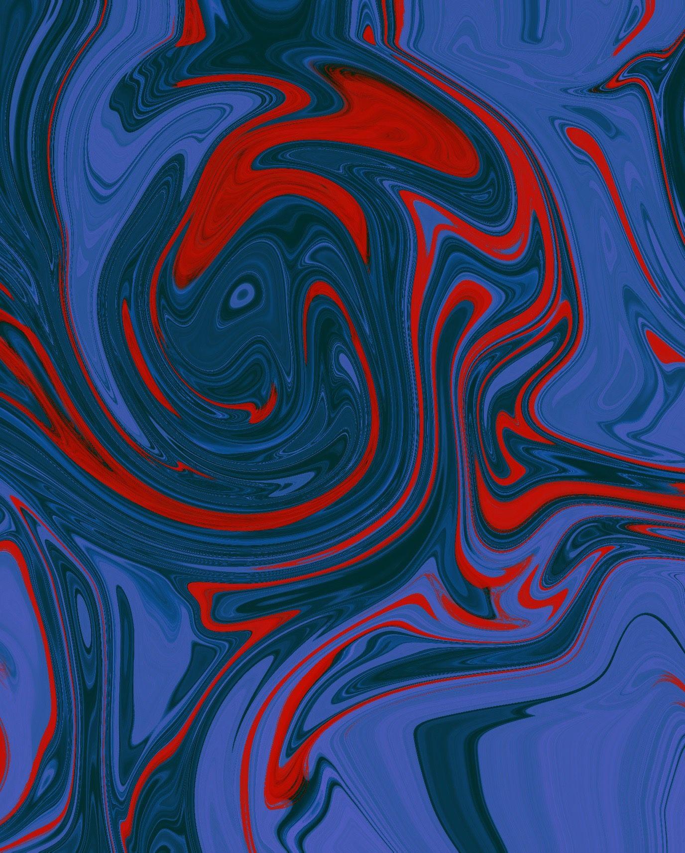 4k Liquid Pattern Creative Wallpaper Abstract Abstract Artwork Blue Abstract 4k wallpaper blue and red