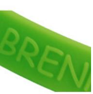 ownBand-Style hochgeprägt.  Nutze jetzt diese individuelle 3D-Außen-Prägung. Cooler Effekt und dennoch dezent. Für  alle Logos und Texte. Bringe Deine Message aufs Band!!! #ownband #silikonarmband #CreateYourOwn