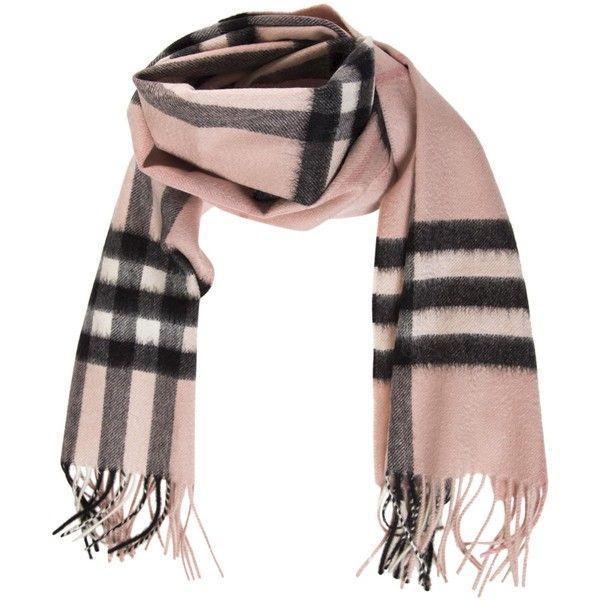 fringed check scarf - Brown Burberry MJV3OdaIpZ