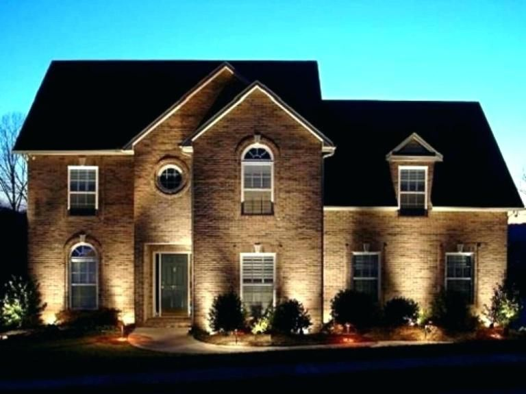 Modern Exterior Lighting In 2020 Modern Exterior Lighting Exterior House Lights Facade Lighting
