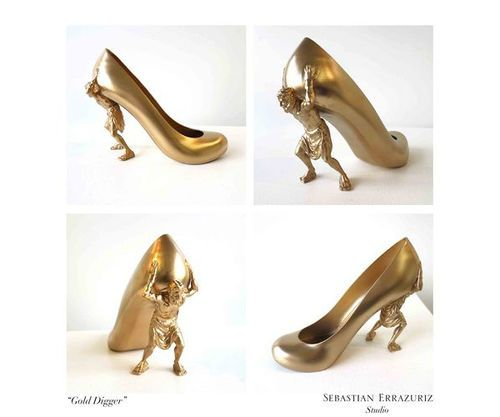 12 Shoes for 12 Lovers by Sebastian Errazuriz