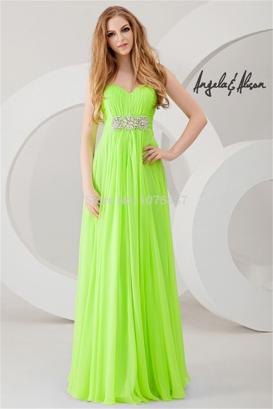 Lime green formal dresses choice image dresses design ideas click to buy free shipping lime green prom dresses with crystal click to buy free shipping ombrellifo Image collections
