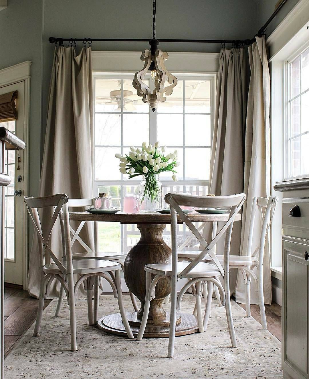 Kitchen Nook Curtains: Pin By Anita Flores On DINING ROOM