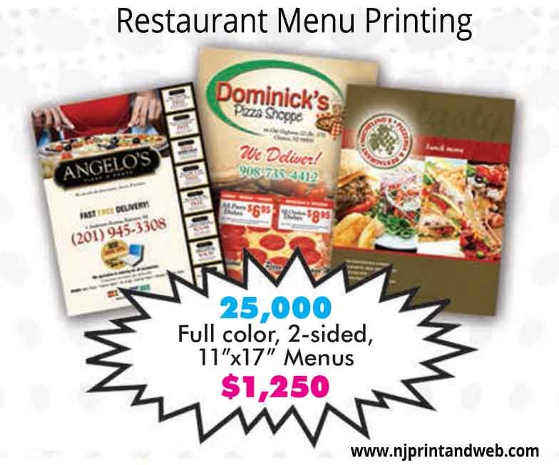 Make Menus Online - Quick  EASY Instant design Try it Free, today