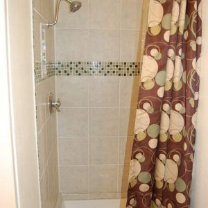 Shower Curtain Rod For Stand Up