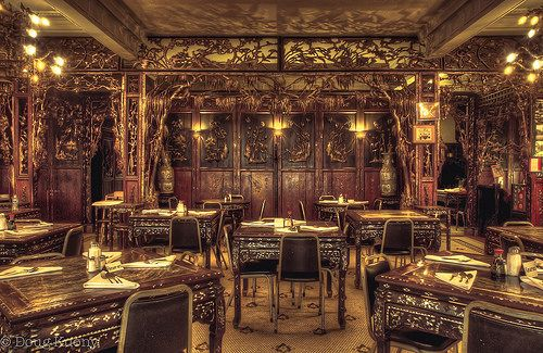 King Fong Cafe Owned By Alexander Payne Omaha Eiffel Tower Inside Restaurant Nebraska