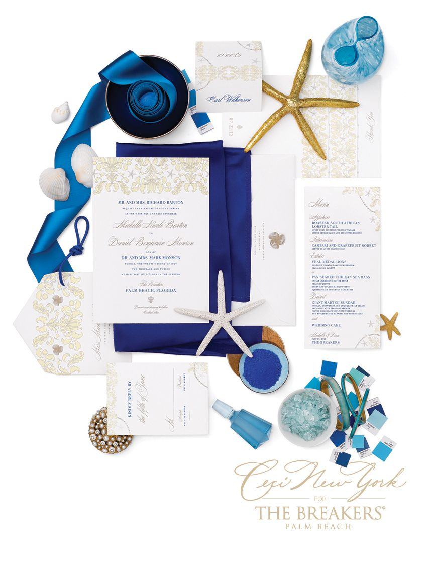 Love the sea themed idea and this color against white looks great ...