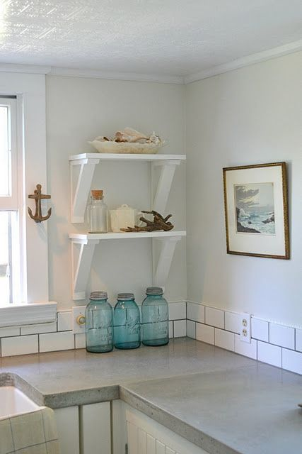 Kitchen ideas | Cement countertops, Rooms home decor ...