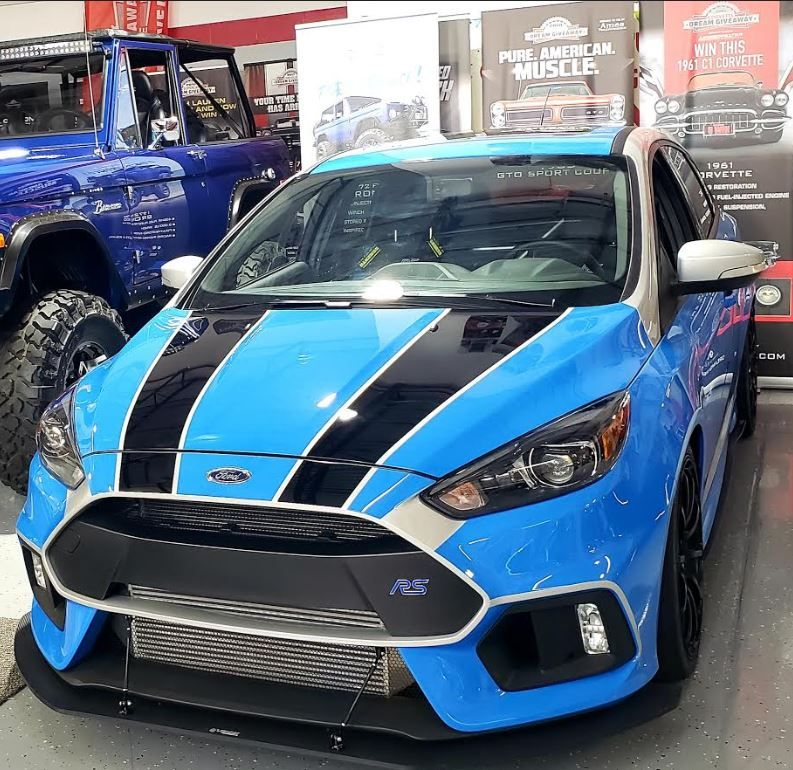 Ford Focus Rs Enter To Win It While Helping Charities In 2020