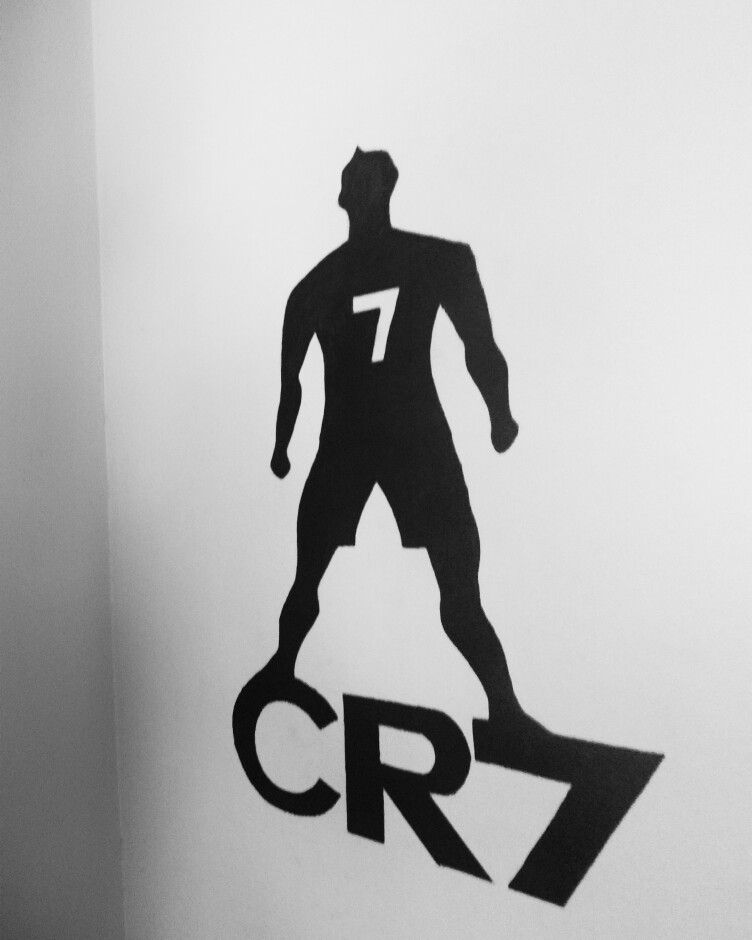 Cristiano Ronaldo Wall Art Marker Drawing Sketches My Work
