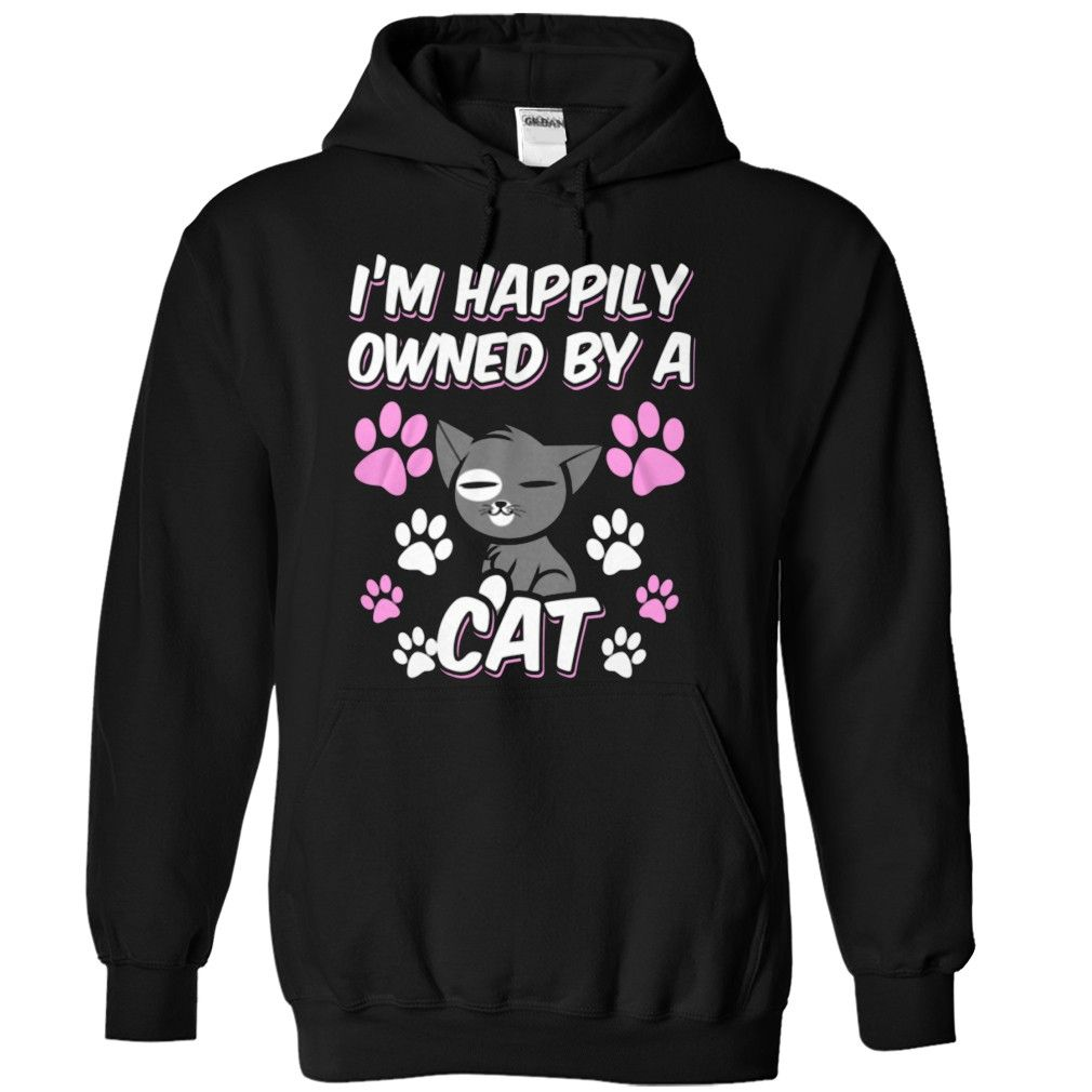 I m happily owned by a cat Cat