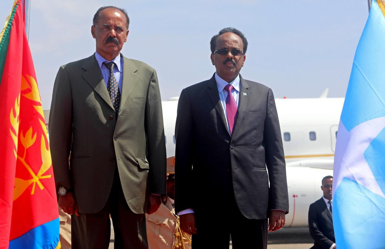 Eritrean president visits Somalia for the first time after