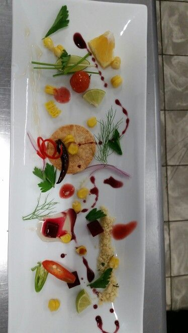 Composición de gastronomía
