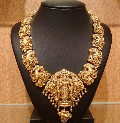 goldtemplejewellerydesignsmotifnecklacewithgoddess All That