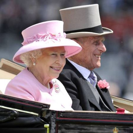 Queen Elizabeth und Prinz Philip Liebe für Ewigkeit