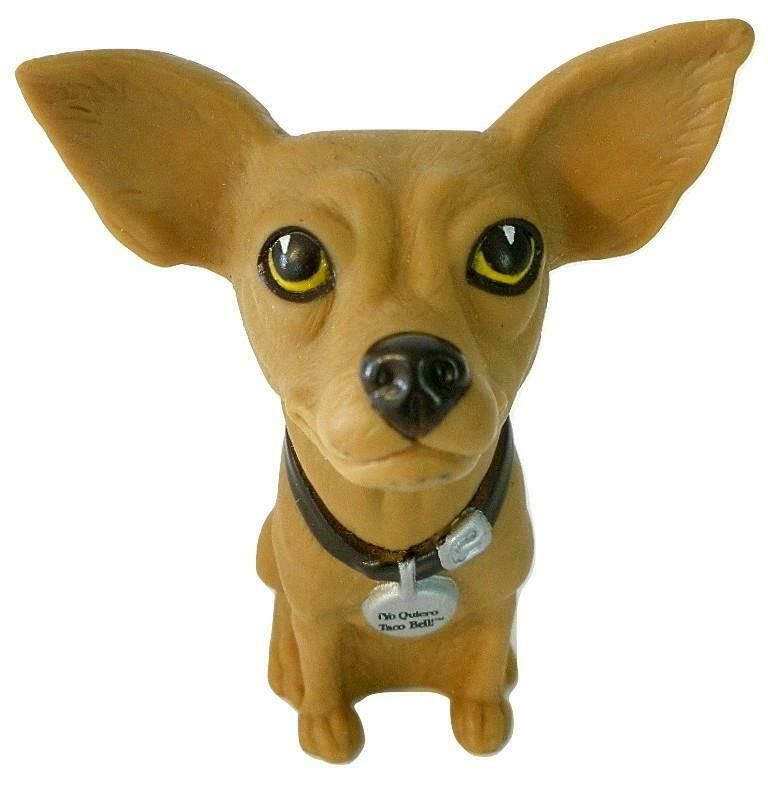 Applause Yo Quiero Taco Bell Chihuahua Dog Vinyl Figure 4 Inches