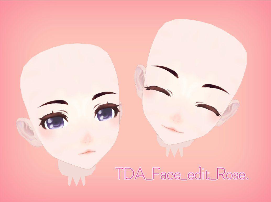 MMD] TDA Face edit download !! by DianaRose666 deviantart