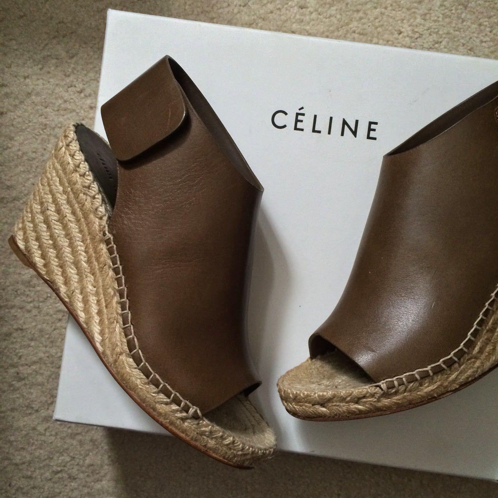 New in: CELINE Espadrille Wedges   Shoes   Pinterest ...