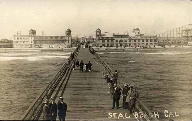 The Seal Beach Pier In 1917 We Know