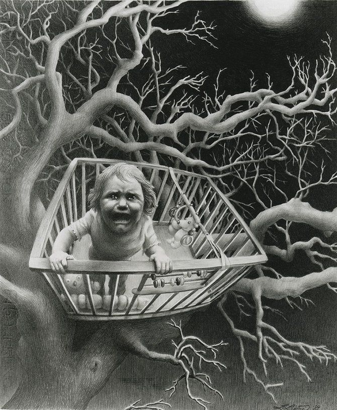 Creative Drawings by Laurie Lipton | Art Pictures