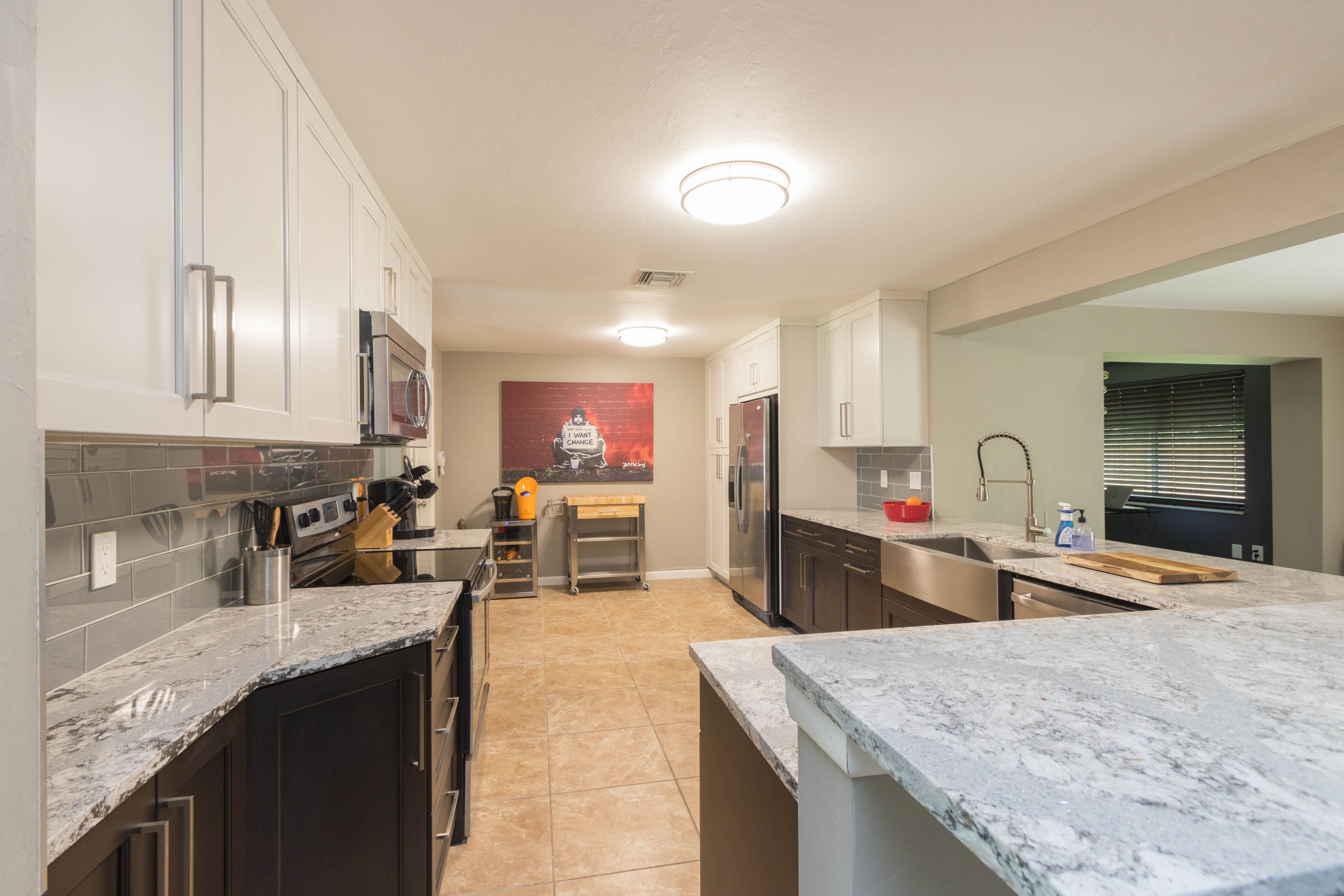 Beau Quartz Countertops   Engineered Stone Countertops   Cabinet Genies Cape  Coral FL