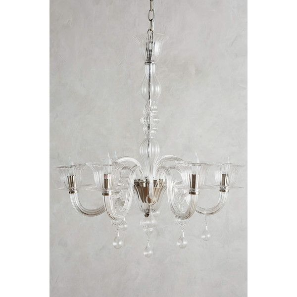 Anthropologie glass calixta chandelier upward 2640 cad liked anthropologie glass calixta chandelier upward 2640 cad liked on polyvore featuring home aloadofball