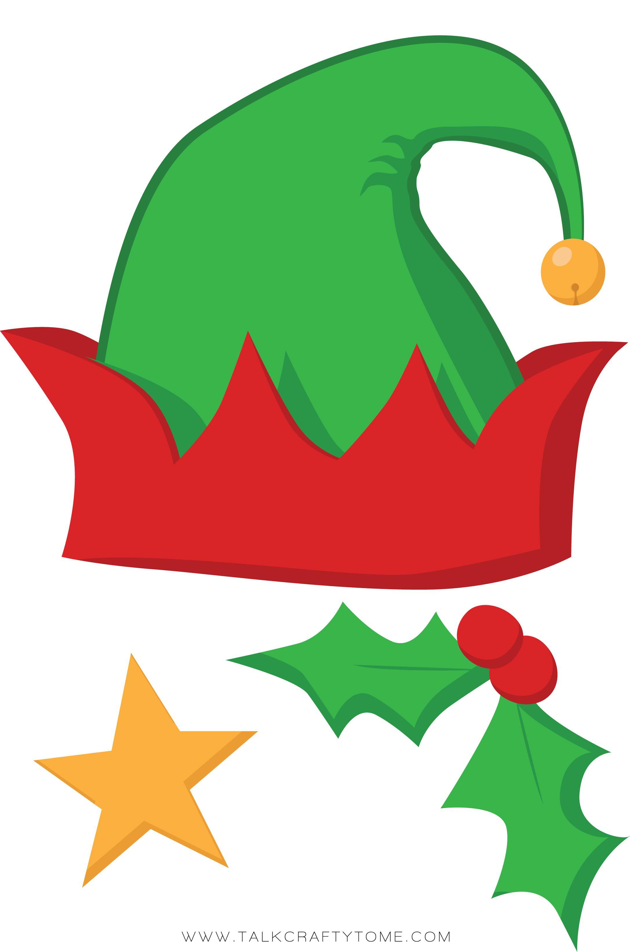 Christmas Photo Booth Printables | Free christmas DIY Printabl ...