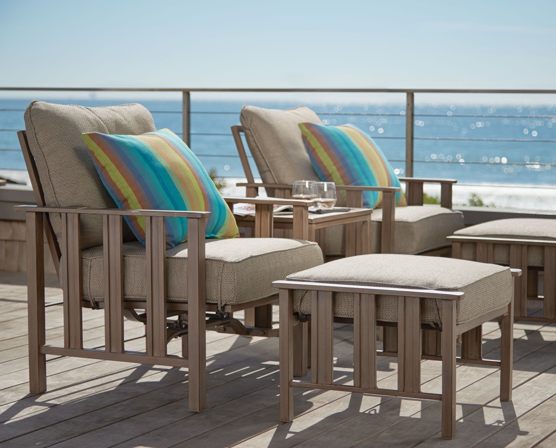 Florence Seating Collection from Orchard Supply Hardware Orchard Supply Beach House Hardware Patio & Florence Seating Collection from Orchard Supply Hardware | Beach ...