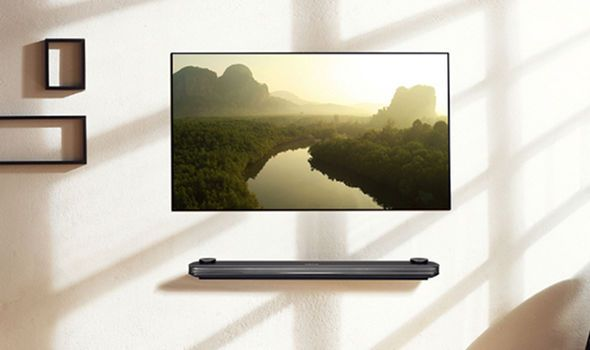 LG OLED 4K UltraThin Wallpaper TV You Have to See It to