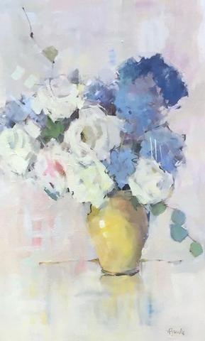 Nancy Franke - Whispered in French   dipingere ad olio   Pinterest ...