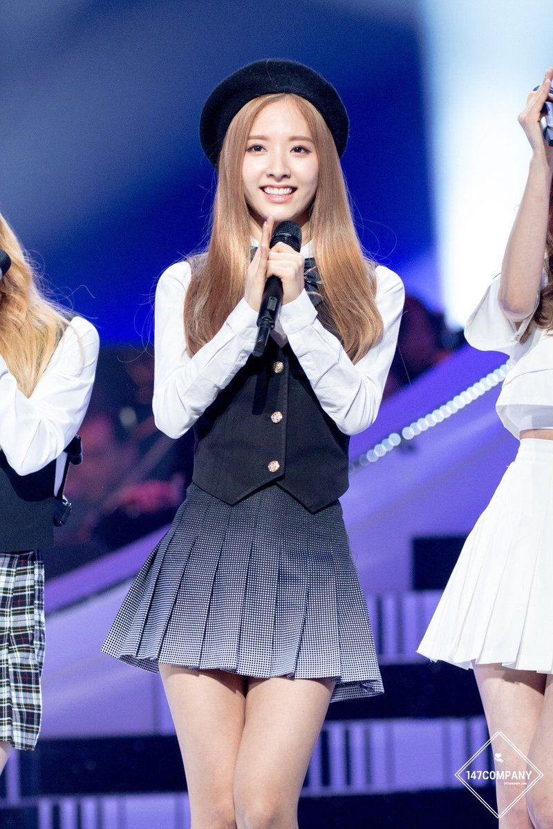 WJSN - Bona #보나 (Kim Jiyeon #김지연) at KBS Open Concert 160223