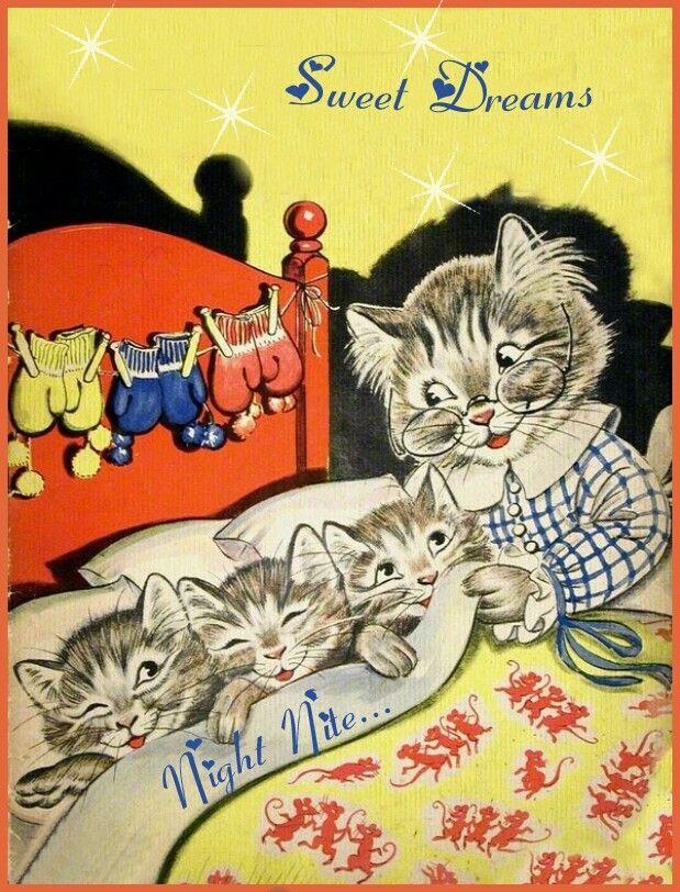 Pin By Kelly On Kitty Cats Illustration Cat Art Vintage Illustration
