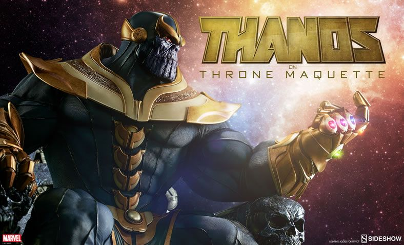 Sideshow Collectibles Thanos On Throne Will Have You Bowing To Its Greatness Sideshow Collectibles Thanos Marvel Marvel