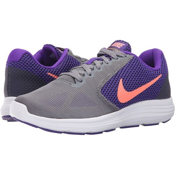 Nike Revolution 3 (Fierce Purple/Cool Grey/Black/Atomic Pink) Women's