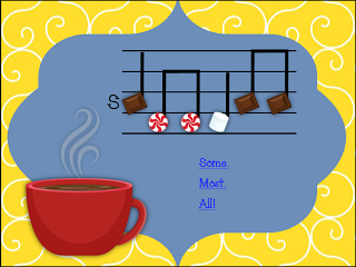 My Musical Menagerie: Cup of Cocoa Solfege and Rhythm Game for So-Mi, So-Mi-La, and Mi-Re-Do