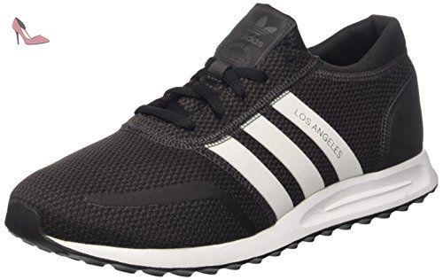 adidas Lite Racer, Chaussures de Tennis Homme - Noir (Negbas/ftwbla/Escarl), 41 1/3 EU
