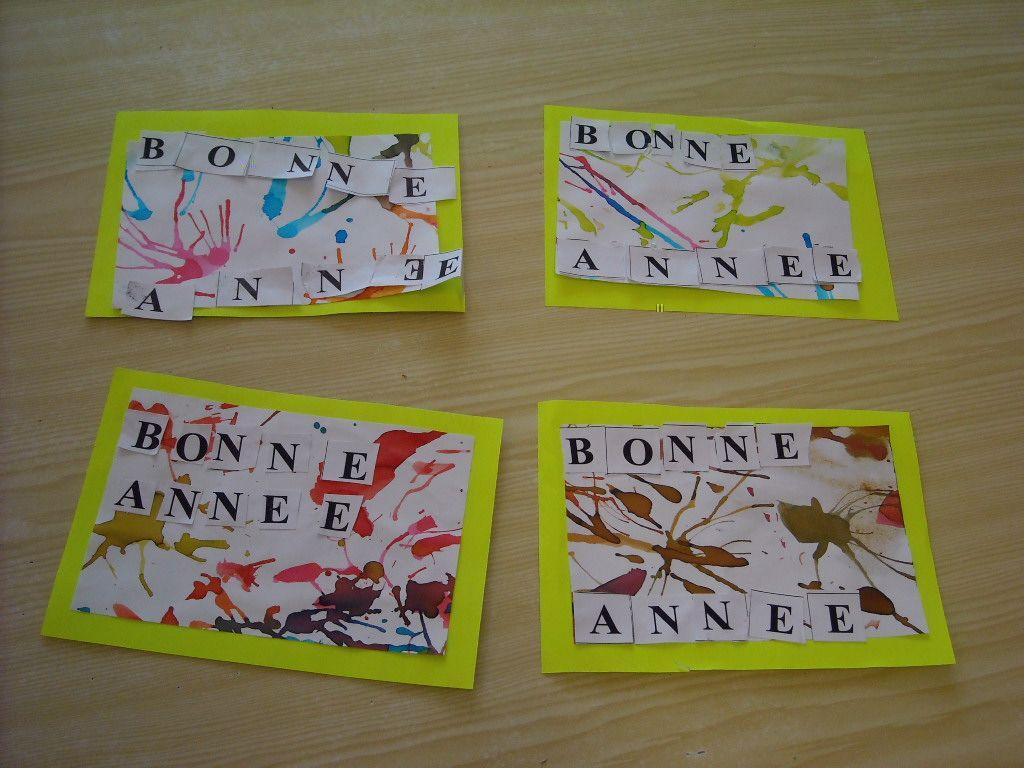 carte de bonne année maternelle Carte Bonne Annee Maternelle (avec images) | Carte de voeux, Carte