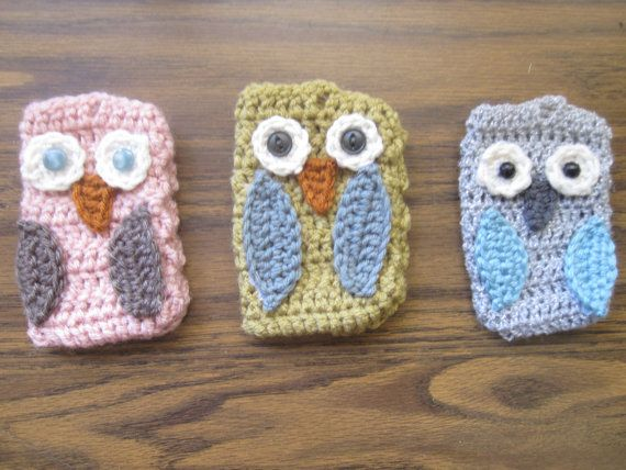 New and for sale on my etsy!  http://www.etsy.com/listing/92154300/owl-pouch?ref=v1_other_1