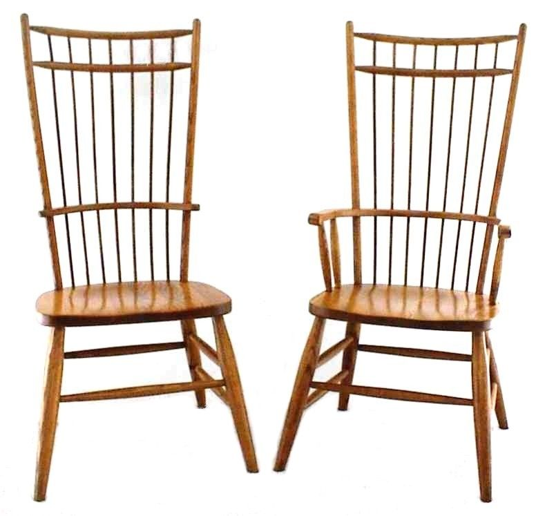 amish dining room chairs   Amish Cage Back Windsor Dining Chair
