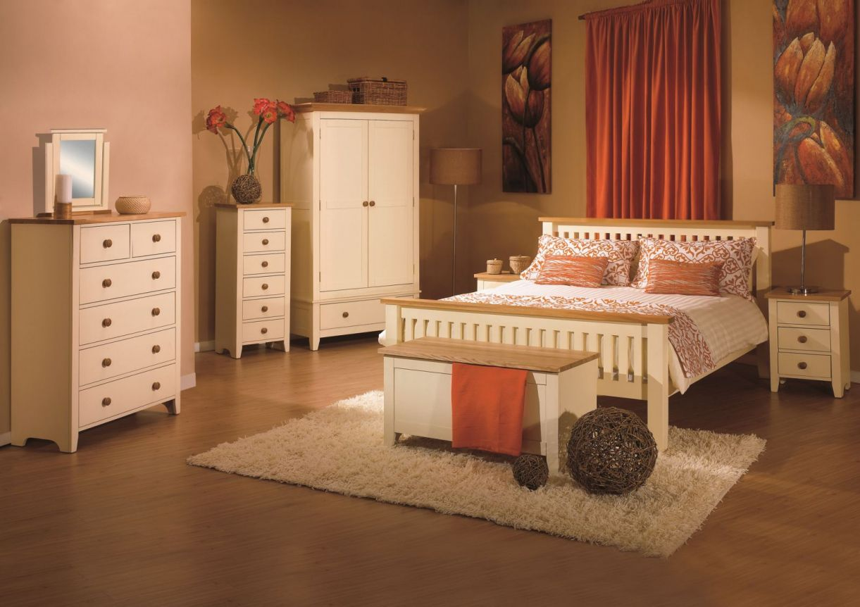 Cream and Wood Bedroom Furniture Mens Bedroom Interior Design